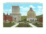 Courthouse  City Hall  Asheville  North Carolina
