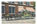 Chesterfield Stagecoach  Keene  New Hampshire