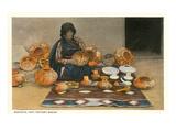 Nampeya  Hopi Pottery Maker