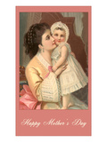 Happy Mothers Day  Victorian Mother and Child