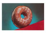 Glazed Donut  Retro