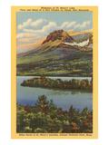 St Mary's Lake  Glacier Park  Montana