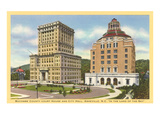 Courthouse and City Hall  Asheville  North Carolina