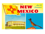 Greetings from New Mexico  Roadrunner and Roundhouse