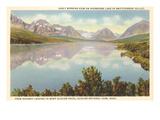 Sherburne Lake  Glacier Park  Montana
