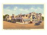 La Fonda Hotel  Santa Fe  New Mexico