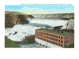 Great Falls  Volta Dam  Montana