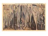 Crystal Grotto  Carlsbad Caverns  New Mexico