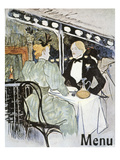 Toulouse-Lautrec: Menu
