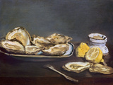 Manet: Oysters  1862
