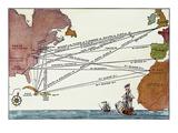 Slave Trade Map  17Th C