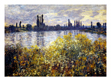 Monet: Seine/Vetheil  1880