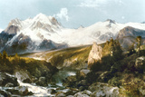 Moran: Teton Range  1897