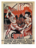 Russia: Soviet Poster  1920