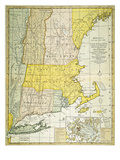 New England Map  C1775