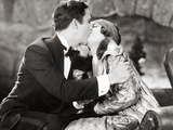 Silent Film Still: Kissing