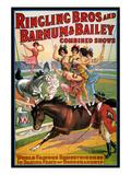 Circus Poster  1920S