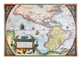 New World Map  1570
