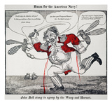 War Of 1812: Cartoon  1813