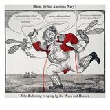 War Of 1812: Cartoon  1813
