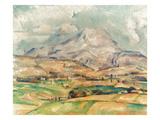 Cezanne: St Victoire  1897