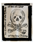 Stamp Act: Cartoon  1765