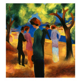 Macke: Green Jacket  1913