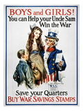 World War I: US Poster