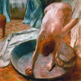 Edgar Degas: The Tub  1886