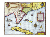 Florida: Map  1591