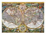 World Map  1607