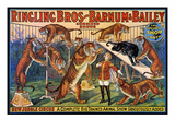 Circus Poster  1920S