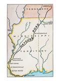 Natchez Trace  1816