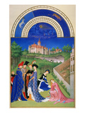 Tres Riches Heures: April
