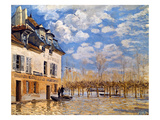 Sisley: Flood  1876