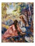Renoir: Meadow  C1890