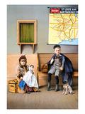 Railroad Poster  1898