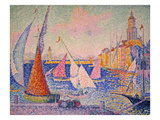 Signac: St Tropez Harbor
