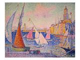 Signac: St Tropez Harbor