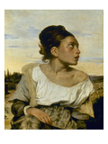 Delacroix: Orphan  1824
