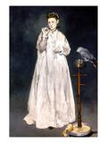 Manet: Woman & Parrot