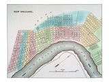 New Orleans Map  1837