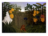 Rousseau: Lion