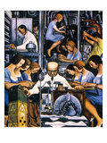 Rivera: Mechanization 1932