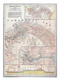 Map: Panama  1907
