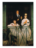 Manet: The Balcony  1869
