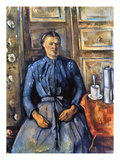 Cezanne: Woman  1890-95