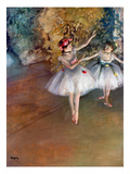 Degas: Dancers  C1877