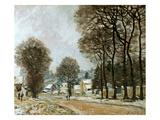 Sisley: Louveciennes  C1874