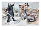 Free Silver Cartoon  1895